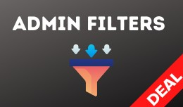Admin Filters Pack