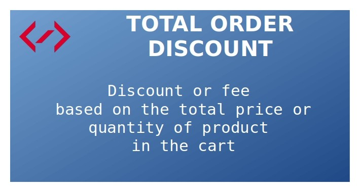 Total Order Discount