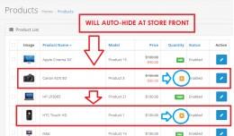 AutoHideProductSoldOutZeroStock