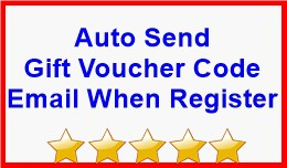Auto Send Gift Voucher Code Email When Register