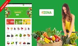 Zena Organic & Grocery Theme ( Free Installa..