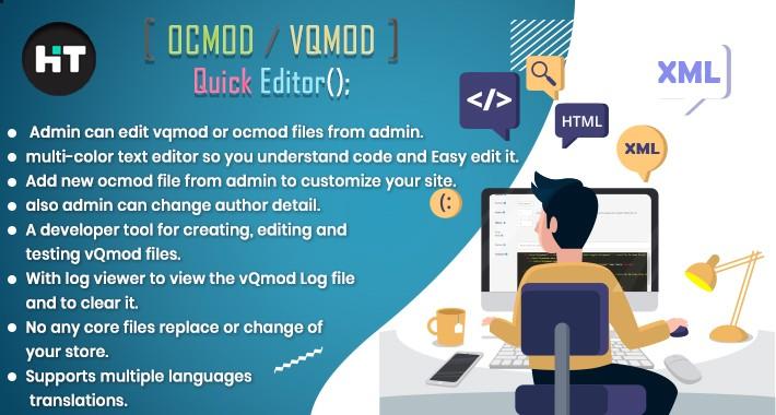 Hit Ocmod / vQmod XML Editor