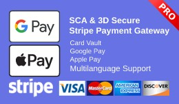 Stripe Pro with 3D and SCA | Card Vault | Apple ..