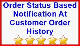 Order Status Based Notification At Customer Orde..