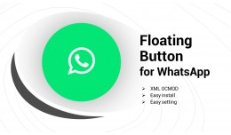 Floating Button for Whatsapp