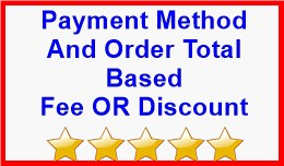 Payment Method And Order Total Based Fee OR Disc..