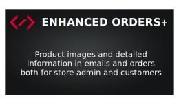 Enhanced Orders+ (product images in emails and o..