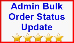 Admin Bulk Order Status Update