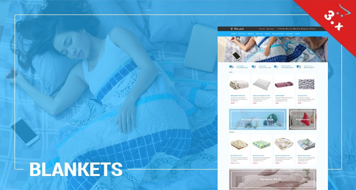 Blankets - Bedding, Pillows, Beauty - Responsive Template