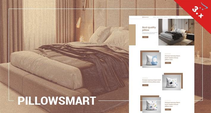 Pillowsmart - Bedding, Pillows, Interior - Responsive Template
