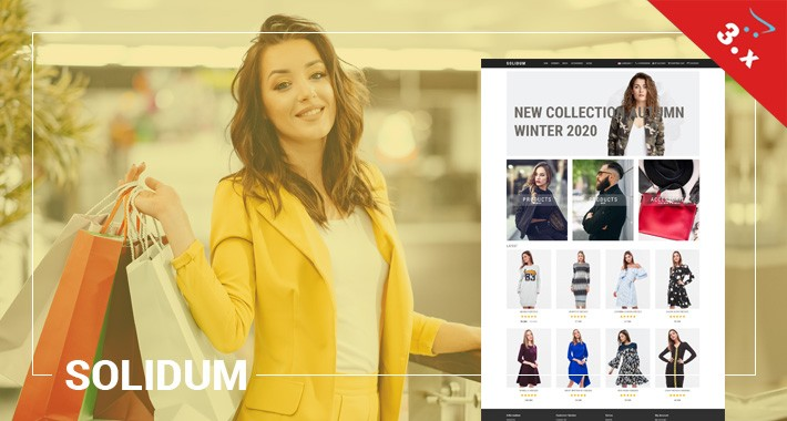 Solidum - Clothing, Outfits, Fashion - Responsive Template