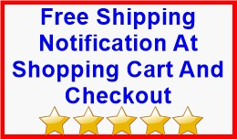 Free Shipping Notification At Shopping Cart And ..