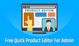 Admin Quick Product Editor Free