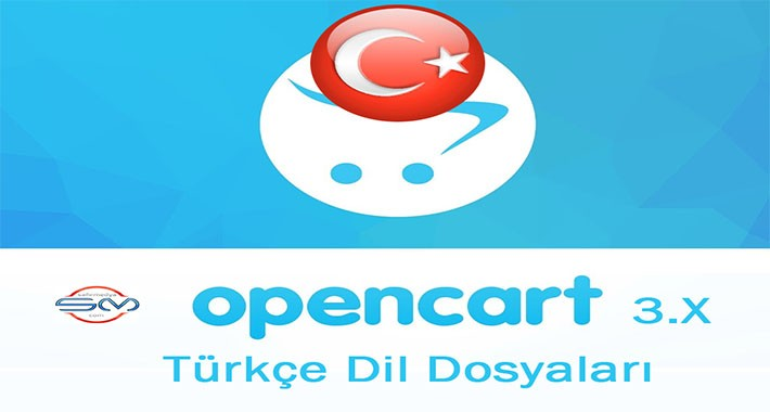 OpenCart 3.X Türkçe Dil Dosyaları (Turkish Language Files)