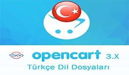 OpenCart 3.X Türkçe Dil Dosyaları (Turkish La..