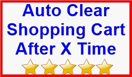 Auto Clear Shopping Cart After X Time
