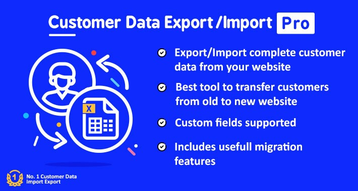 Customer Data Import Export Pro
