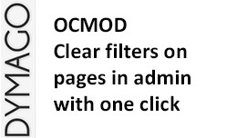 Clear filters in admin with one click