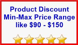 Product Discount Min-Max Price Range