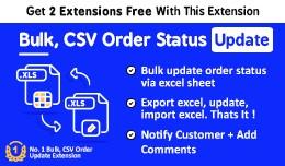 Bulk Order Status Update Using Excel Sheet/CSV s..