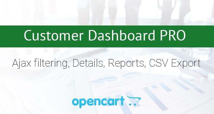 Customer Dashboard PRO
