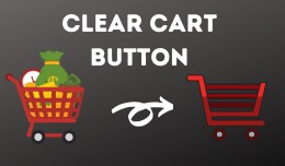 Clear Cart button [Free support]