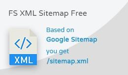 FS XML Sitemap Free - sitemap.xml file generator