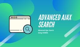 Advanced Ajax Search