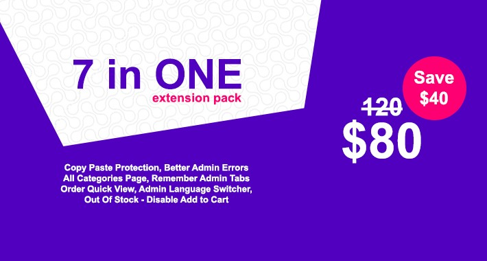 7 In One Extension Package
