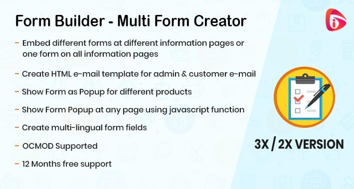 Form Builder - Multi Form Creator ( 2x & 3x )