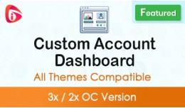 Custom Account Dashboard