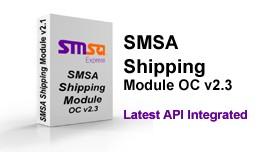 SMSA Shipping Module OC v2.3