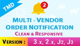 Vendor And Admin Order Notification (Multi Vendo..