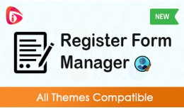 Register Form Manager