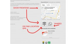 add Google MAP product page by product Multimerc..