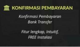 Konfirmasi Pembayaran Bank Transfer