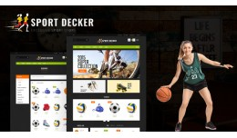 Sport Multipurpose Responsive Opencart 3.x Theme