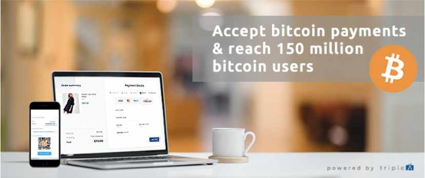 Increase your revenue by accepting bitcoin payments