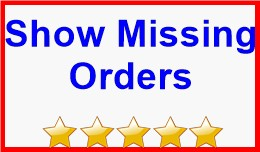 Show Missing Orders