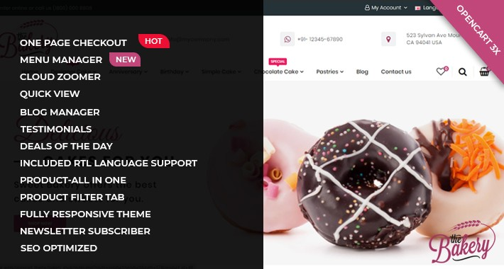Bakery Multi-Purpose Theme