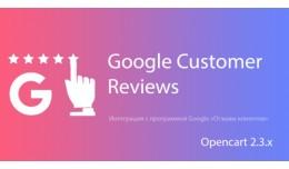 Google Customer Reviews (Отзывы клиен..