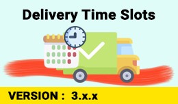 Custom Delivery Time Slots