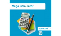Mega Calculator for Opencart 2.x 3.x