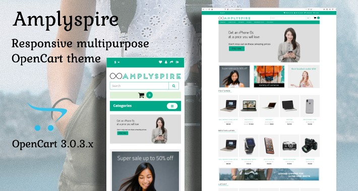 Amplyspire - A Responsive Multipurpose OpenCart Theme