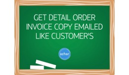 Order Email Copy for Admins