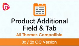Product Additional Field & Tab