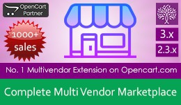 Complete Multi Vendor Marketplace