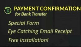 Payment Confirmation Bank Transfer