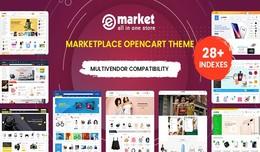 Multi-purpose MarketPlace OpenCart 3 Theme