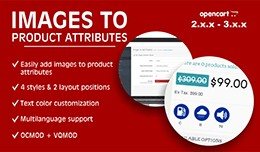 Easy image to products' attributes